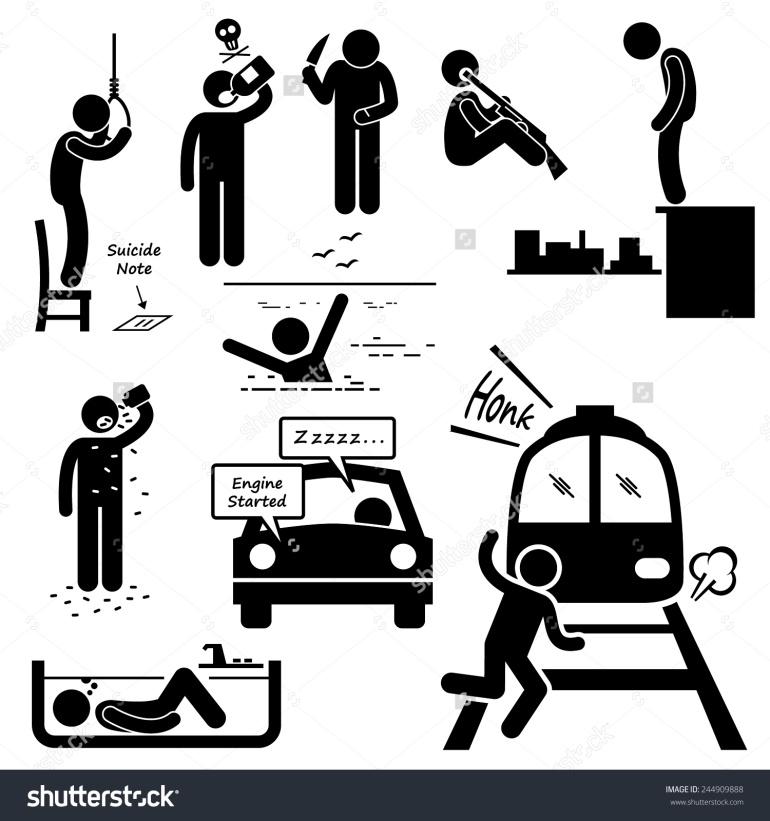 stock-vector-suicidal-commit-suicide-methods-stick-figure-pictogram-icons-244909888